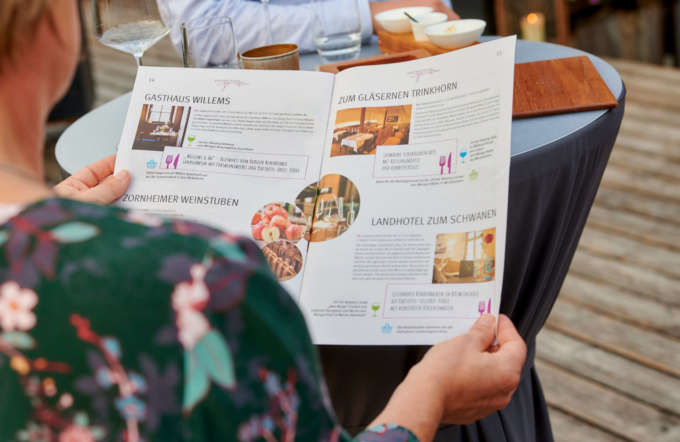Wie man regionale Gastronomie, Winzer und Produzenten mit einem kreativen Marketingkonzept vernetzt, zeigen wir mit einem Beispiel.